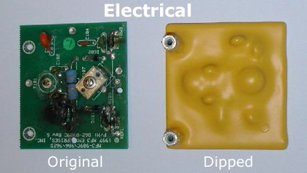 tropicalizar electronicas con plastidip