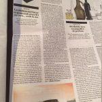 Publicación en el periódico Ara.Cat