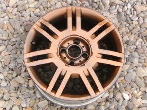 Tercera capa de efecto cobre plastidip