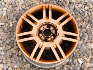 Cuarta capa de efecto cobre vinilo líquido plastidip