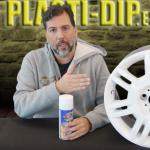 Spray Blanco vinilo líquido plastidip para llantas