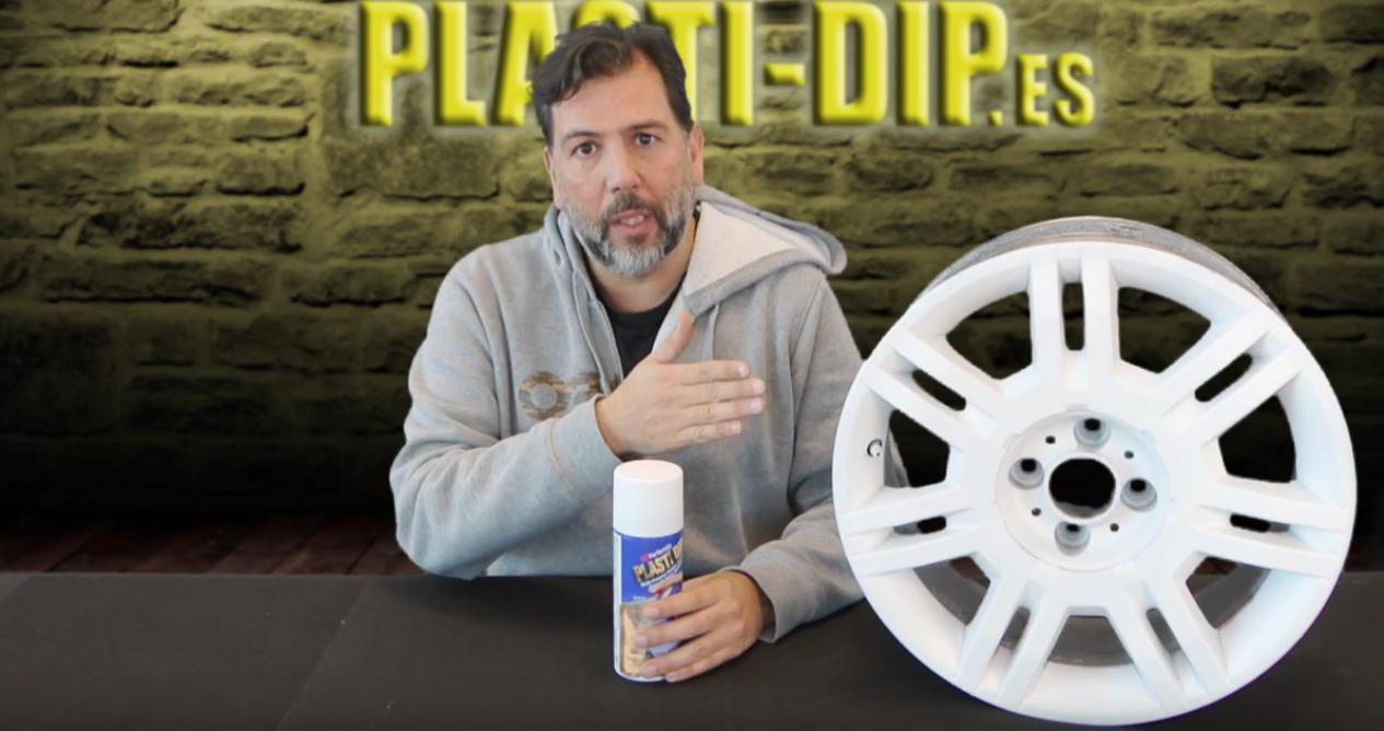 spray blanco vinilo liquido plastidip