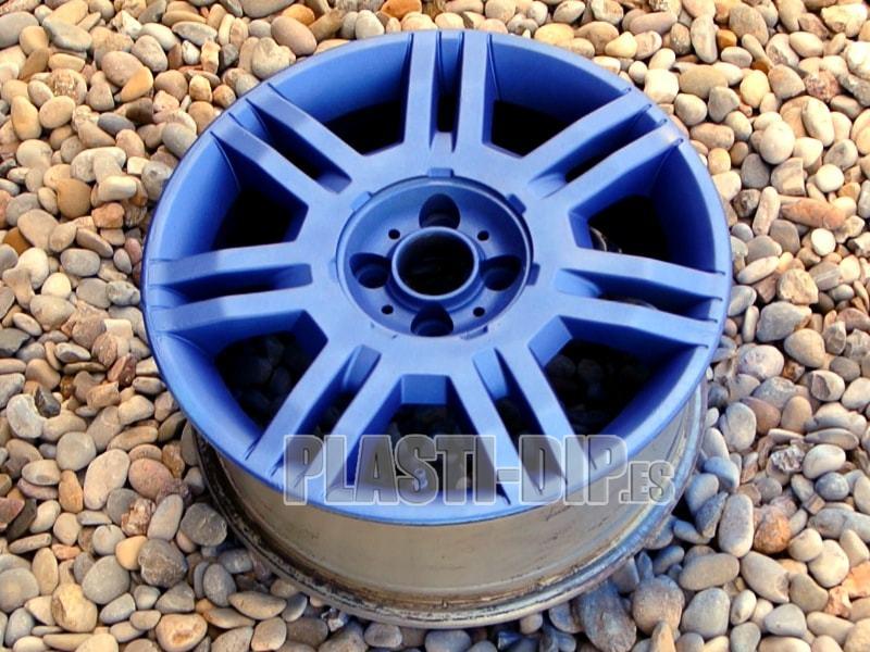 vinilo liquido color azul metálico