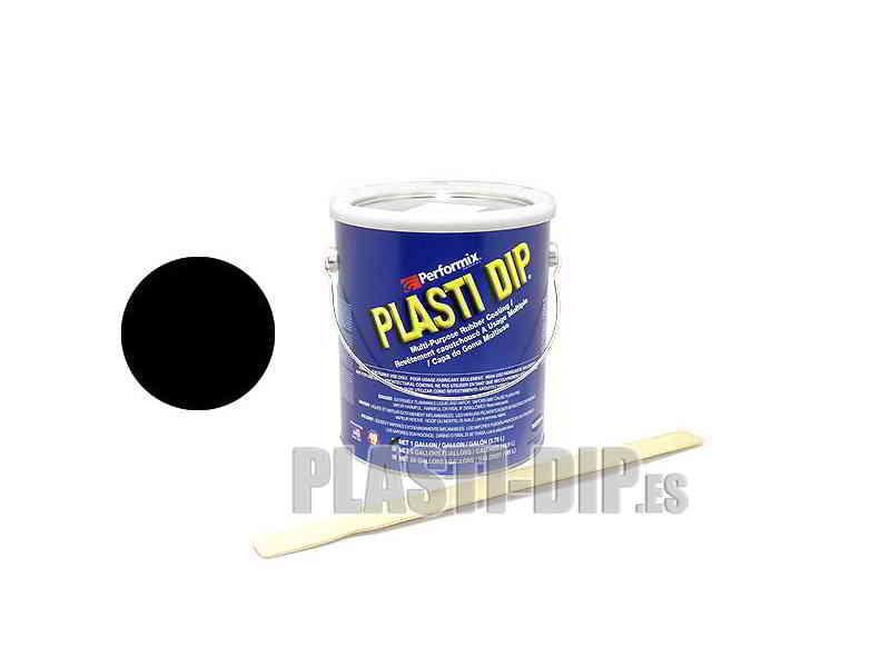 Plastidip Goma Líquida Negro Mate (3Kg/3.78L) formato USA