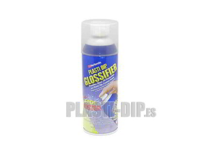 vinilo líquido plastidip en spray brillo