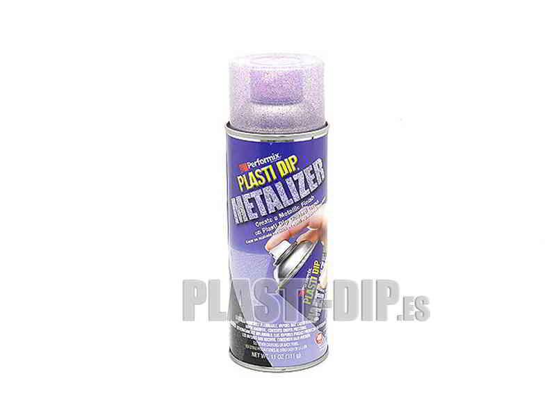 Plastidip Goma l�quida Spray Efecto violeta met�lico