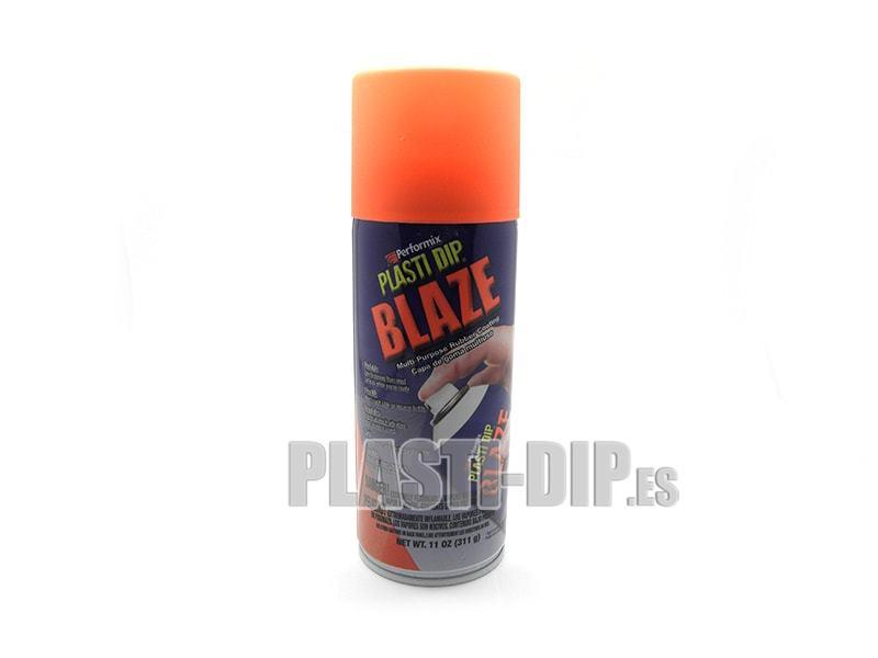 Plastidip Vinilo l�quido Naranja Cono Fluorescente