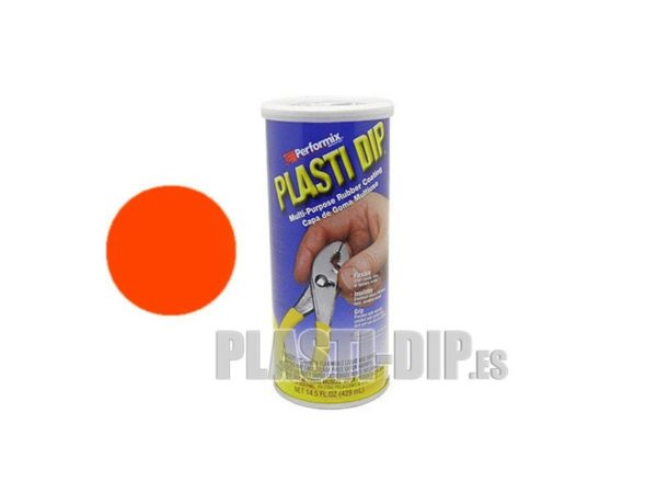 goma líquida plastidip naranja