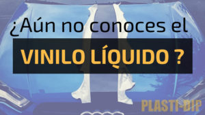 ¿aún no conoces el vinilo liquido?