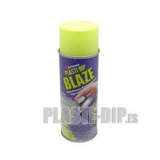 vinilo liquido plastidip amarillo fluor