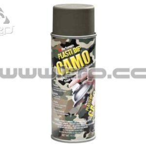 Plastidip Goma protectora en Spray VERDE CAMO