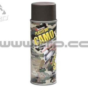 Plastidip Goma protectora en Spray MARRON CAMO mate