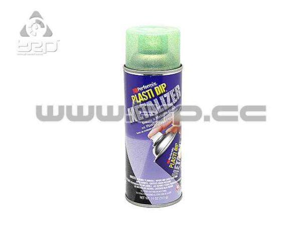 Plastidip Vinilo líquido Spray Efecto Verde Metálico