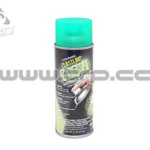 Plastidip Goma protectora Spray VERDE Resplandor (Glow)