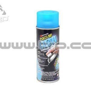 Plastidip Goma protectora Spray AZUL Resplandor (Glow)