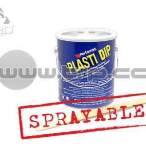 Plastidip Efecto Acabado Brillo Metal Plata (3Kg/3.78L) Sprayab