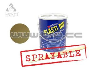 Plastidip Efecto Acabado Brillo Metal Oro (3Kg/3.78L) Sprayable