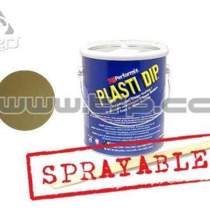 Plastidip Efecto Acabado Brillo Metal Oro (3Kg/3.78L) Sprayable