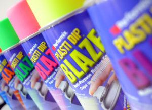 Gama de colores BLAZE de Plasti-Dip