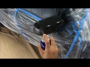 Podemos aplicar spray PlastiDip a los retrovisores, como prueba.