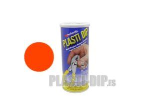 Pintura Naranla fluor PlastiDip, en bote de 429ml