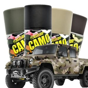 Colores Plasti-Dip camo en spray