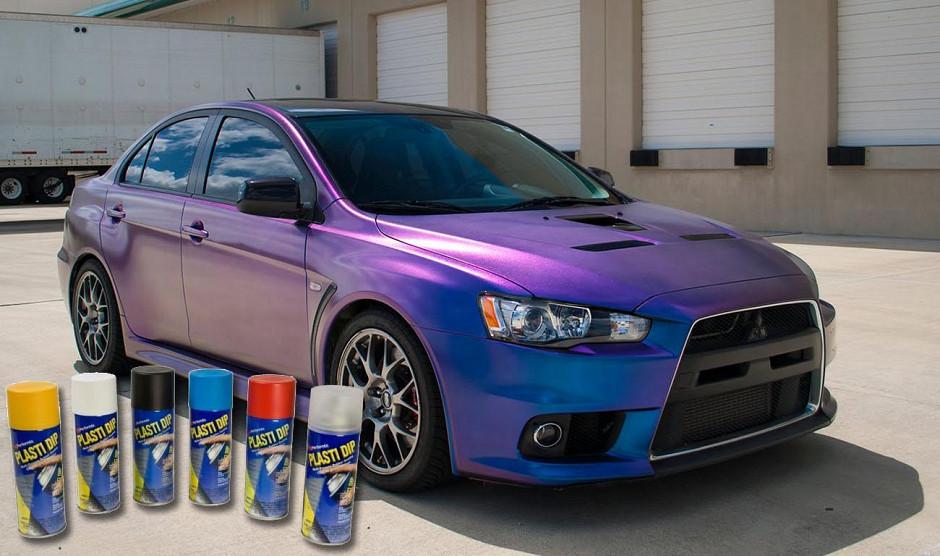 Spraays para carrocería de coche, de pintura PlastiDip