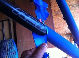 Plastidip, despintado de cuadro de bicicleta